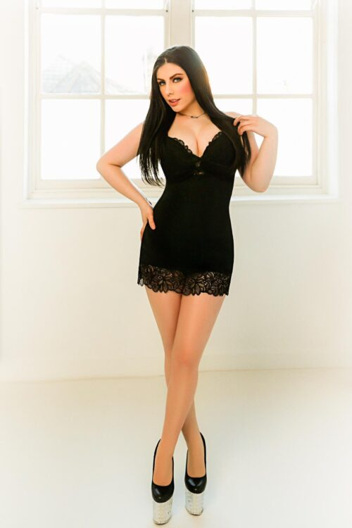 Angela Brunette 36D Busty Young Paddington Escort in London